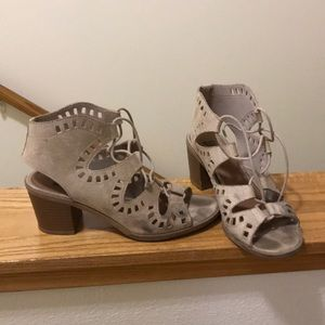 Shoes - Laceup Heels